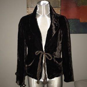 Forever silk blazer jacket